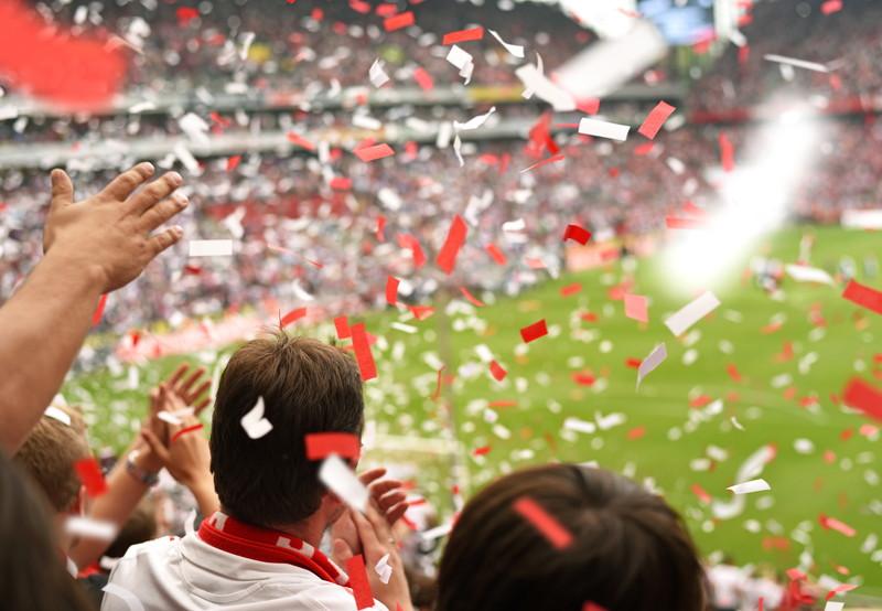 サッカーファン 観戦