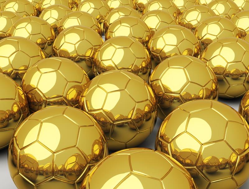 金のボール